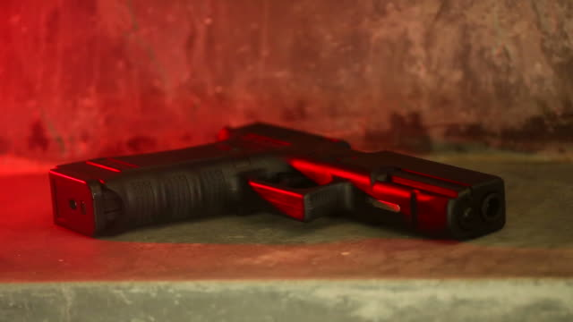 gun shooting - огнестрельное оружие стоковые видео и кадры b-roll