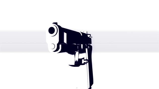 Guns word animation video