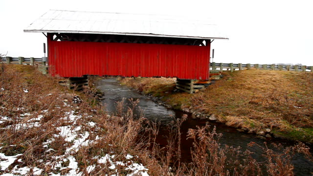 Guthrie Covered Bridge in Quebec, Canada video