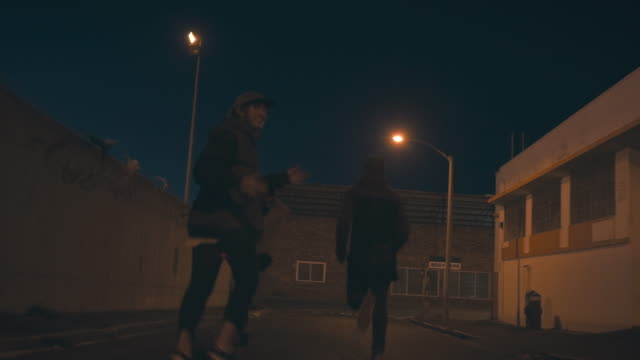 友人を歩く ビデオ