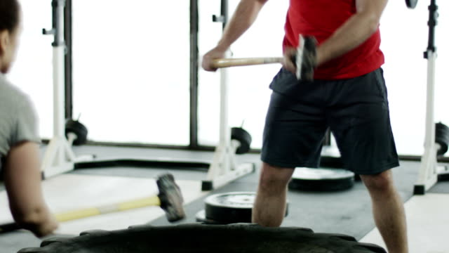 gym workout in a gym video