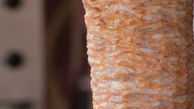 Gyros Doner Kebab turning