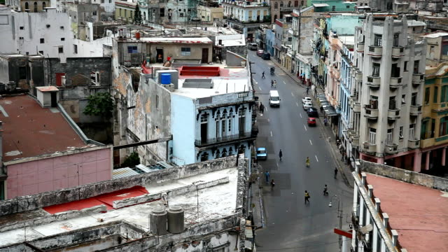 Habana Old City in Cuba video
