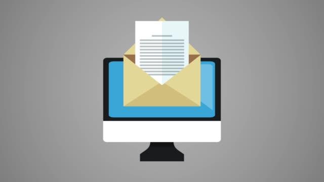 hacker and security system hd animation - phishing filmów i materiałów b-roll