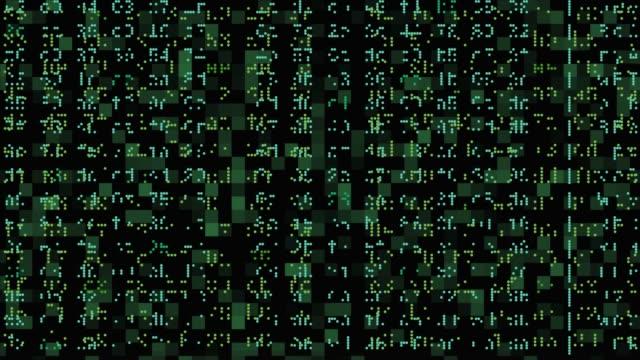 hackerangrepp-konceptet - rymdvarelse bildbanksvideor och videomaterial från bakom kulisserna