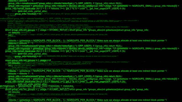 stockvideo's en b-roll-footage met hacker code running - boomstam