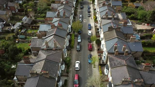 Hackney aerial view