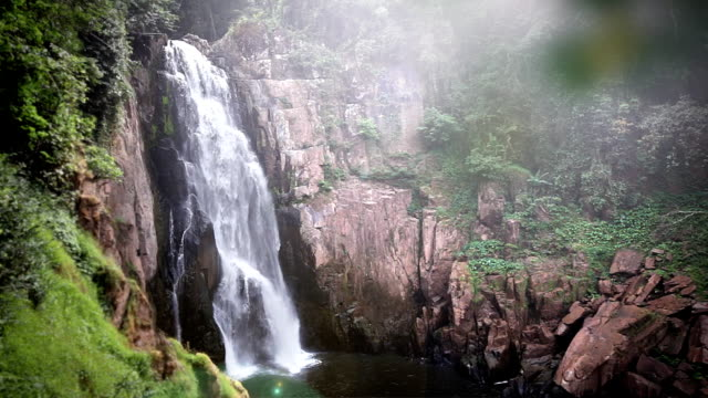 Haew Na Lok waterfall, khao yai, thailand video