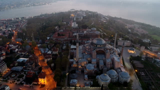 hagia sofia and blue mosque - 3 - ramadan stock videos and b-roll footage