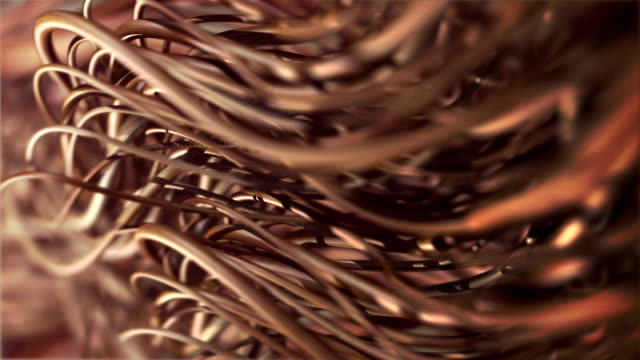 hair closeup loop hair close-up, shallow depth of field, seamless loop highlights hair stock videos & royalty-free footage