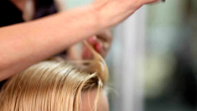 hair cut video