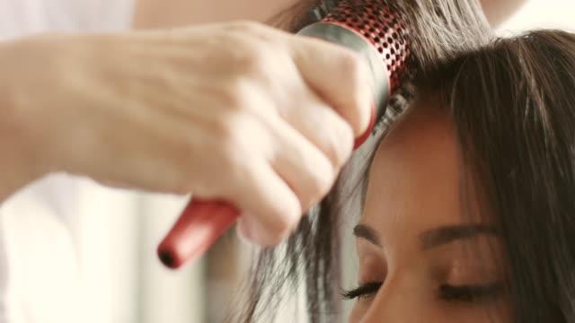 Hair Drying video