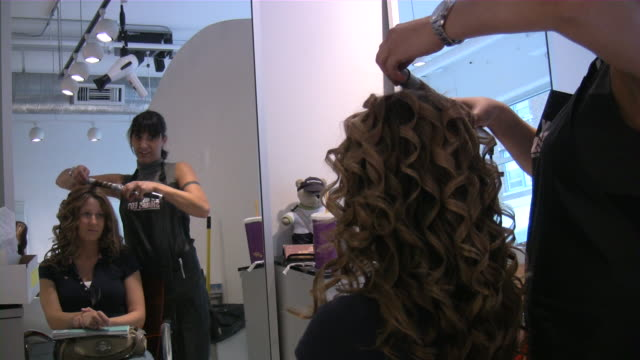 hair salon video