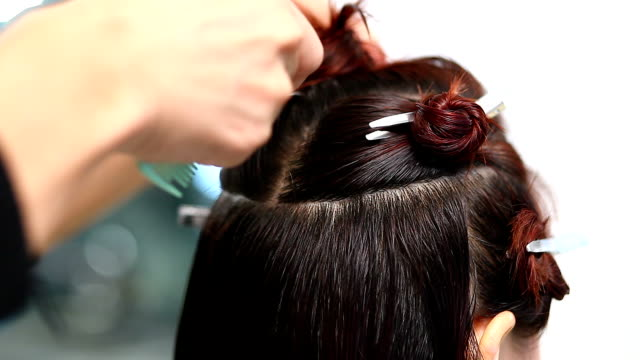 Top 80 Hair Color Stock Videos and Royalty-Free Footage - iStock