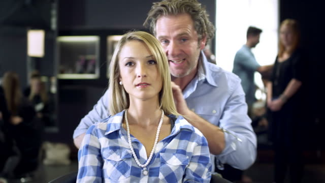 Hairstyling video