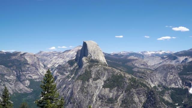 Half Dome panorama trail Yosemite National Park