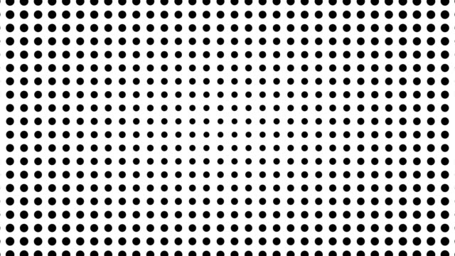 Half tone of many dots, computer generated abstract background, 3D render