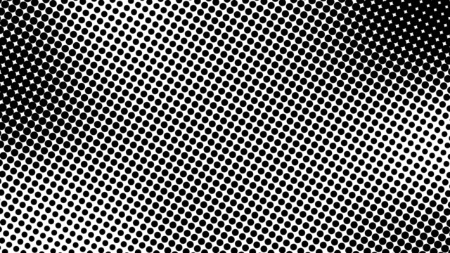 Half tone of many dots, computer generated abstract background, 3D render backdrop with optical illusion effect