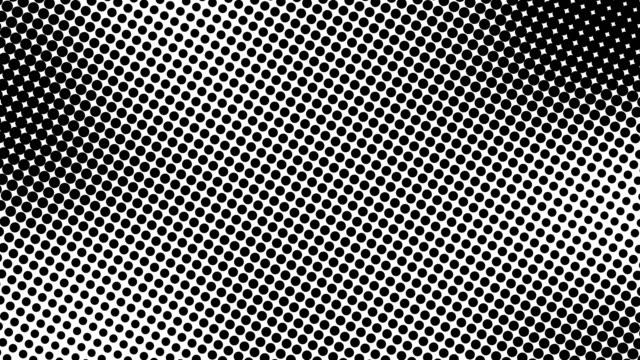 halv ton av många punkter, datorgenererade abstrakt bakgrund, 3d återge bakgrund med optisk illusion effekt - kulle bildbanksvideor och videomaterial från bakom kulisserna