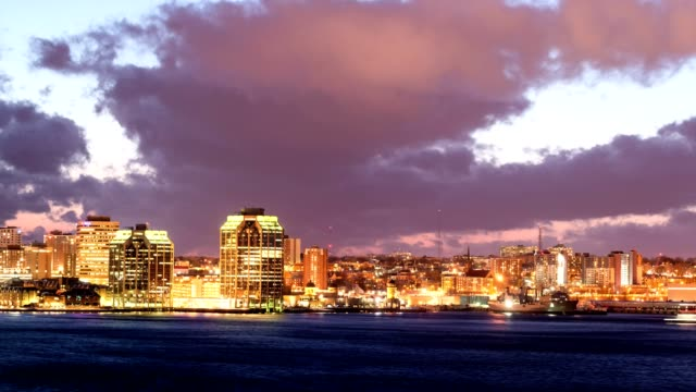 Halifax Moonset
