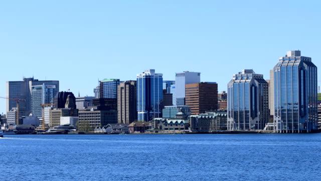 Skyline van Halifax, Nova Scotia video