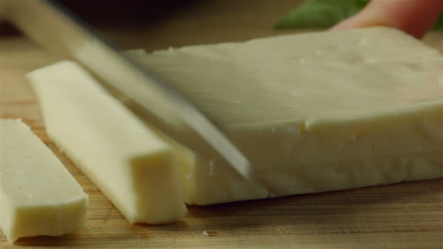 Halloumi or hallumi is a Cypriot brined goat's and sheep's milk cheese video