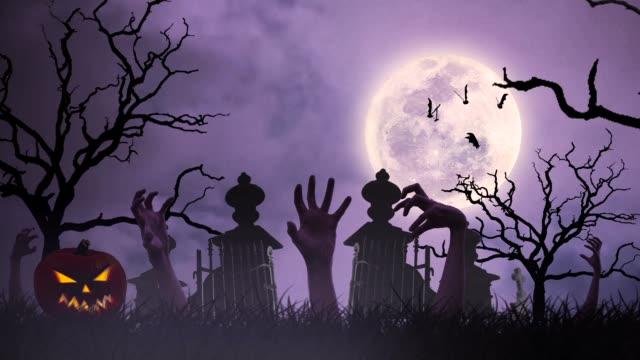 Halloween animation video