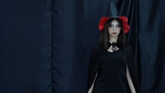 Halloween Costume girl portrait