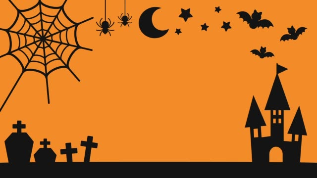 Halloween Motiv silhouette – Video