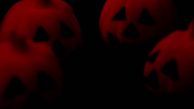 Halloween pumpkin glow in the dark