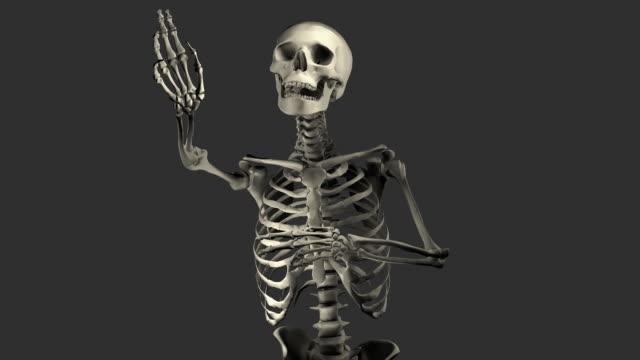 (Loop + Alpha) Halloween, Singing Skeleton video