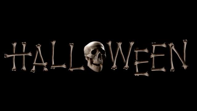 Halloween Skull video
