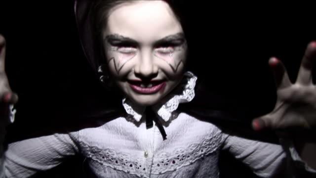 Halloween Vampire Girl - HD, sound video
