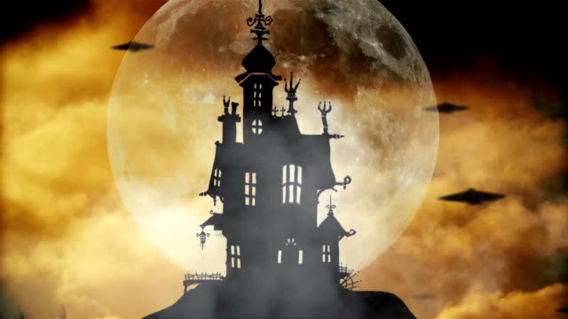 Halloween Happy Halloween animation count dracula stock videos & royalty-free footage