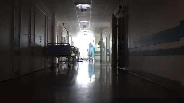 hallway in the hospital - hospital stock videos & royalty-free footage