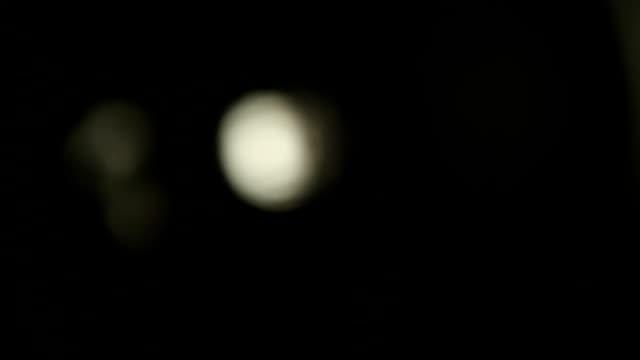 Halogen bulb studio lighting video