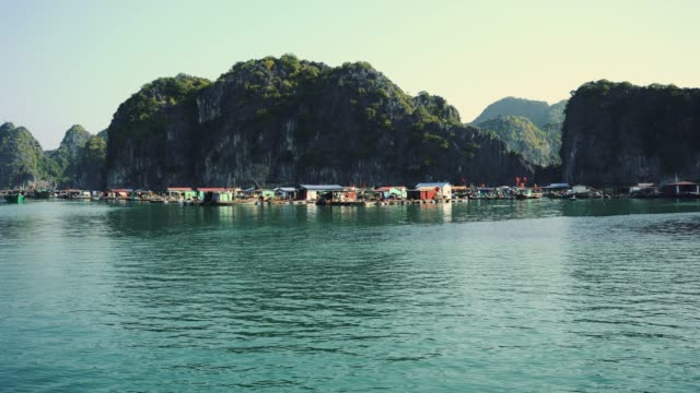 Halong Bay Houseboats Halong Bay Houseboats. vietnam 4k southeast stock videos & royalty-free footage