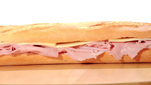 ham and cheese sandwich video