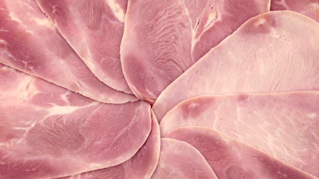 stockvideo's en b-roll-footage met ham schotel draaien - ham