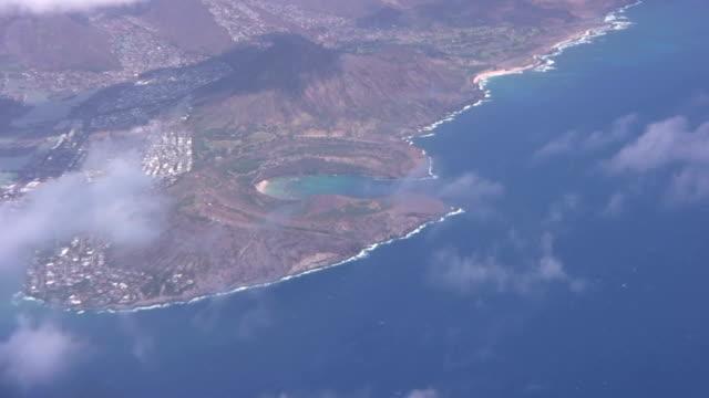 Hanauma bay hawaii oahu honolulu waikiki travel flight big island  big island hawaii islands stock videos & royalty-free footage