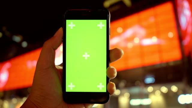 pov手: デジタル マーケティング - ブランディング点の映像素材/bロール