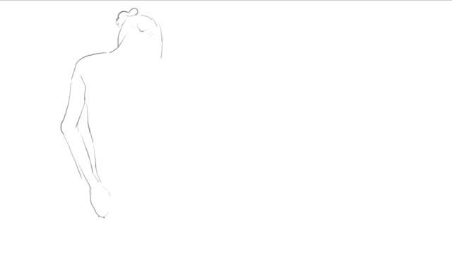 Hand drawing Art Process
