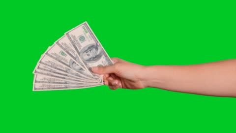 el para verme - money stok videoları ve detay görüntü çekimi