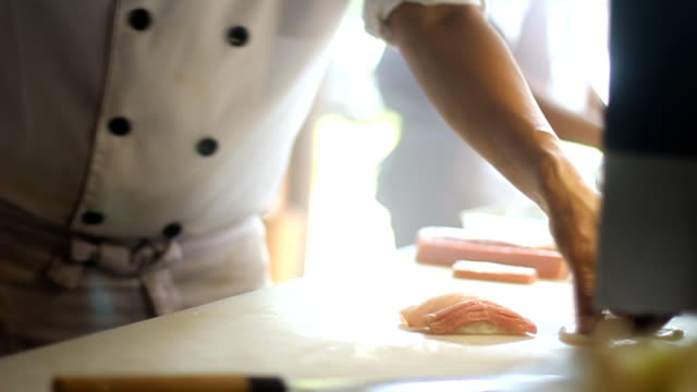 Hand made Sushi No.1 video