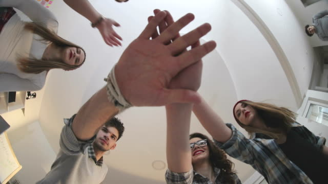 Hand on hand and success is ours video