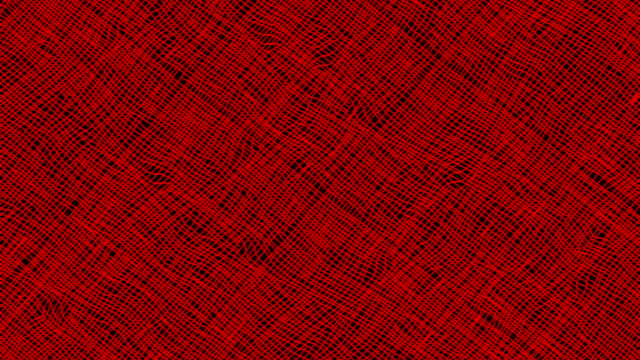 Hand Sketched Cartoon Red Lines Background in Stop Motion video