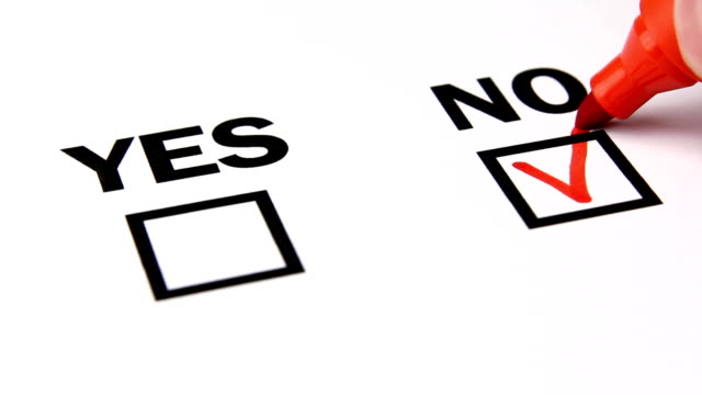 hand tick off in checklist. Yes no choice. video