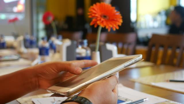 hand using smart phone video