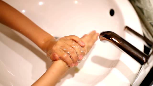 手洗いシンク - 洗う点の映像素材/bロール