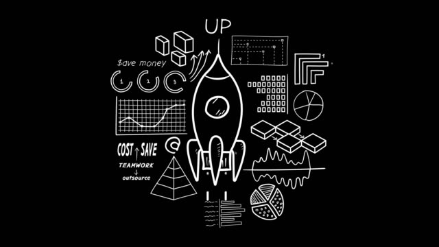 Hand-drawn animation - Startup.